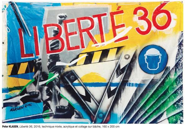 36/36, 36 artistes d'art contemporain fêtent les 80 ans des congés payés, Thonon-les-Bains du 13 au 22 août 2016