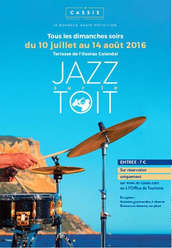 8ème Festival Jazz sur le toit à Cassis du 10 juillet au 14 août 2016