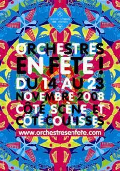 14 au 23 novembre > Orchestres en Fête ! Partout en France, les orchestres donnent le la.