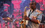 Jazz à St-Rémy de Provence. Manu Dibango à Jazz sous les étoiles