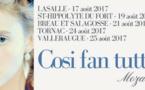Cosi fan tutte, Mozart s'invite dans les Cévennes du 17 au 25 août 2017