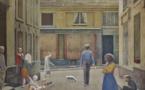Balthus, passage du commerce-Saint-André, 1952–1954, Huile sur toile Collection privée © Balthus. Photo : Mark Niedermann