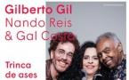 Gilberto Gil, Nando Reis et Gal Costa, pour leur unique date en France à La Seine Musicale, Ile Seguin, le 17 mars 2018 à 20h30