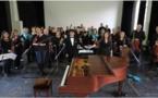 Norihiro Motoyama, piano, et l'Ensemble instrumental des Cévennes à la Filature du Pont de fer à Lasalle le 13 avril 2018
