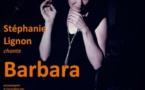Prieuré de Riquer, Catllar (66). Stéphanie Lignon chante Barbara le 12 mai  2018 à 20 h 30