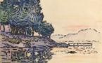 Paul Signac-Saint-Tropez, 1896, Aquarelle 20.5x29cm © Atelier 80, Paris