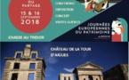 Journées du patrimoine au Château de La Tour d'Aigues (84) les 15 et 16/9/18