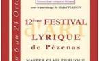 Pézenas, Festival Pézenas Enchanté du 6 au 21 octobre 2018
