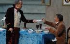Le souper, de Jean-Claude Brisville, avec Christophe Barbier, Théâtre le Chêne Noir, Avignon, le 23 mars 2019