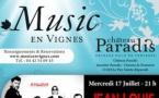 Le festival Music en Vignes est de retour les 17, 18 et 19 Juillet au Château Paradis, à Puy-Sainte-Réparade (13) !