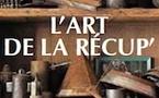 « l'Art de la récup' », par Marie-Hélène Chaplain (textes) et Aline Périer (photographies), éditions Tournez la Page