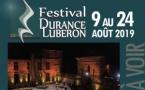 Festival Durance Luberon du 9 au 24 août 19 : Jazz, opéra et chanteuses à paillettes