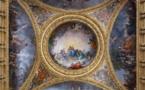 Château de Versailles, le salon de la Paix restauré