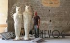 «Adsum», rétrospective de l'œuvre de Pierre Sgamma au centre d'art Campredon à L'Isle-sur-la-Sorgue du 26 octobre 2019 au 16 février 2020