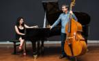 Ramona Horvath et Nicolas Rageau  en concert à la chapelle du Mas Riquer à Catllar (prés de Prades) le 12 octobre 2019 à 18 heures