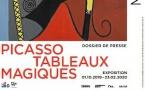 « Picasso. Tableaux magiques ». Exposition du 1er octobre 2019 au 23 février 2020 au Musée national Picasso-Paris