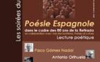 Musée Paul Valéry - Sète. Lecture poétique, Poésie Espagnole, vendredi 6 décembre à 18h30