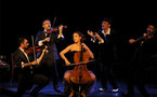 Magic Orchestra, quintette de cordes vocales dont un quatuor à cordes, Ciné-théâtre, Tournon (07), 5 avril 2011 à 20h30