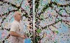Damien Hirst, Cerisiers en fleurs, exposition Fondation Cartier pour l'art contemporain de juin à novembre 2020