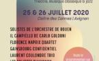 À situation exceptionnelle, spectacles exceptionnels ! Théâtre, musique classique & jazz. Cloître des Carmes, Avignon