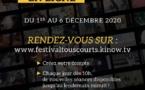 Aix-en-Provence. 38e Festival Tous Courts du 1er au 6 décembre 2020 - Édition en ligne