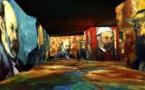 Les Baux, Carrières de Lumières, projections « Cézanne, maître de la Provence », et « Vassily Kandinsky, l'odyssée de l'abstrait ». Ouverture en 2021