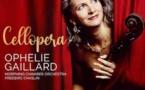 Cellopera, Ophélie Gaillard - Morphing Chamber Orchestra dir. Frédéric Chaslin. Sortie 5 mars 2021, Label Aparté