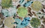 Monique Tello, Sans Titre , 2020 Acrylique, craie, encre sur papier, 130 x 100 cm