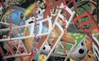 Jeff Koons. Backyard, 2002. Impression jet d'encre sur toile. 416,6 × 731,5 cm ; 164 × 288 inches. Édition 1/1 + épreuve d'artiste. Pinault Collection © Jeff Koons