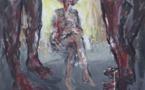 Mercuer (07), galerie Mercurart : «Dorothy Day : changer l'ordre social», peintures de François Rieux. Du 1 au 13/9/21