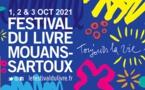 34e Festival du Livre de Mouans-Sartoux, 1-2-3 octobre 2021