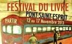 Premier Festival du livre à Pont-Saint-Esprit, du 12 au 17 novembre 2013
