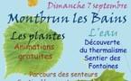 Montbrun-les-Bains (Drôme). 2 ème journée Bien-être au Naturel. 7 septembre 2008