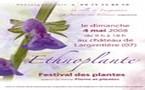 Largentière (Ardèche), Ethnoplante, festival des plantes. 4 mai 2008