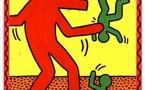 Lyon, Rhône, Musée d'art contemporain de Lyon. Keith Haring. Jusqu'au 29 juin