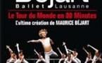 Nice, Palais Nikaïa. Le Tour du Monde en 80 Minutes, de Maurice Béjart. 27 et 28 octobre 2008