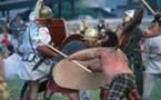 Saint-Romain-en-Gal - Vienne, Les Journées gallo-romaines. Rencontre européenne de reconstitution historique antique et d'archéologie expérimentale. Samedi 31 mai et dimanche 1er juin 2008 de 10h à 18h