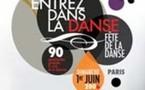 Paris, Fête  de la Danse, 'La Danse à voir et à vivre'. 5ème édition. Spectacles dans 4 arrondissements. Dimanche 1er juin 2008