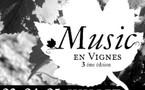 Provence. Le Château Paradis organise son festival « Music en vignes » du 23 au 25 Juillet 2008. Jazz et blues.
