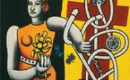 Bâle, Suisse, Fondation Beyeler : Fernand Léger, La Grande Julie une dimension américaine. Un style unique et inoubliable. Jusqu'au 7 septembre