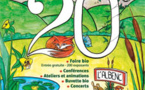 20 ème Festival de L'Avenir au Naturel 3 et 4 septembre 2016 à l'Albenc, Isère
