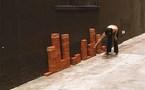 Noisy-le-Sec, La Galerie : Matière à paysage, Exposition collective dans le cadre de la 9ème Biennale d'art contemporain en Seine-Saint-Denis.  20 septembre - 23 novembre 2008