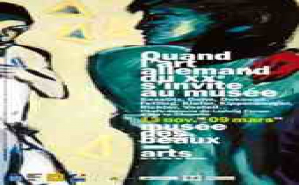 13 nov. 08 - 9 mars 09 > Quand l'Art allemand du XXe siècle s'invite au musée… Musée des Beaux-arts de Reims