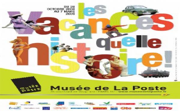 28/10 au 7/03 > exposition Les Vacances... quelle histoire ! Musée de La Poste, Paris