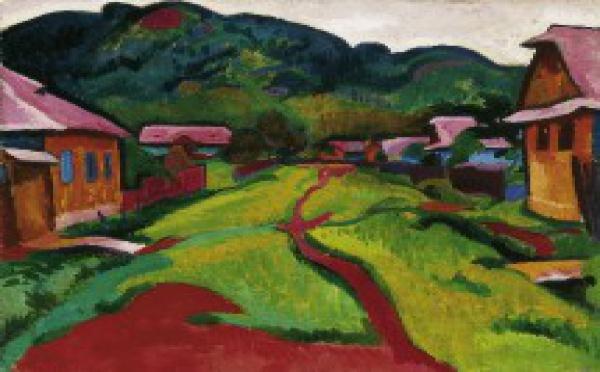 En 2009. Fauves hongrois 1904-1914. La leçon de Matisse. Au musée des Beaux-arts de Dijon