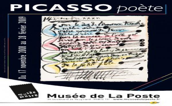 17/11 au 28/02 > Picasso Poète au Musée de la Poste, Paris