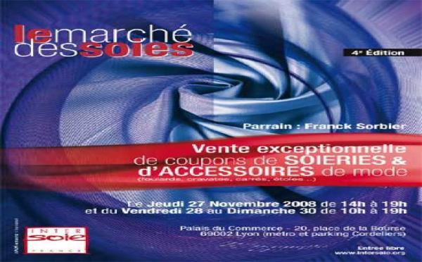 27 au 30/11 > Le Marché des soies 2008. Place de la Bourse, Palais du Commerce, Lyon 2e