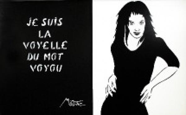Jusqu'au 30/11 > Miss.tic 'Je prête à rire mais je donne à penser' à la galerie W, à Montmartre