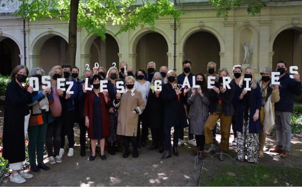 20 galeries lyonnaises s'unissent pour mieux rebondir et annoncent la 2e édition «Osez les galeries» les 26 et 27 juin 2021