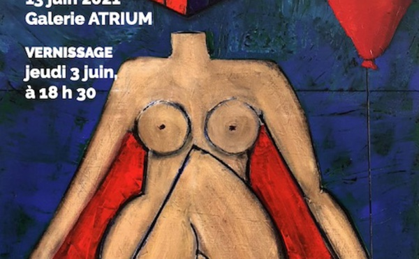 Le Fontanil-Cornillon (38), Galerie de l'Atrium : exposition Ariel Koba du 3 au 13 juin 2021